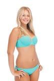 Mujer hermosa en bikini Fotos de archivo libres de regalías