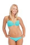 Mujer hermosa en bikini Imagen de archivo