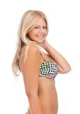Mujer hermosa en bikini Fotografía de archivo