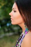Mujer hermosa. foto del arte Fotos de archivo