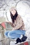 Mujer hermosa joven Fotos de archivo