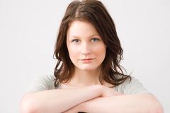 Mujer hermosa joven Imagenes de archivo
