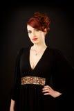 Mujer hermosa joven elegante imagen de archivo
