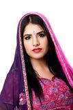 Mujer hindú india hermosa foto de archivo libre de regalías