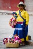 Mujer indígena Foto de archivo