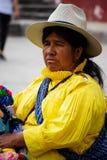 Mujer indígena Imágenes de archivo libres de regalías