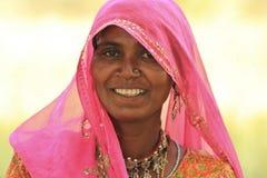 Mujer india Fotografía de archivo