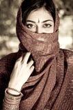 Mujer india fotografía de archivo libre de regalías