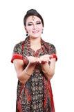 Mujer india en ropa tradicional Foto de archivo libre de regalías