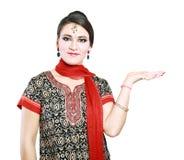 Mujer india en ropa tradicional Imágenes de archivo libres de regalías