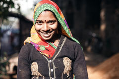Mujer india joven Imagen de archivo