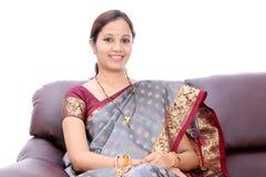 Mujer india tradicional Foto de archivo libre de regalías
