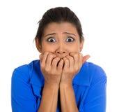 Mujer infeliz Imagenes de archivo