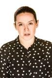 Mujer infeliz Fotos de archivo libres de regalías