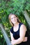 Mujer infeliz Imagen de archivo