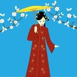 Mujer japonesa Fotos de archivo