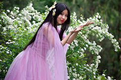 Mujer japonesa hermosa Imagen de archivo