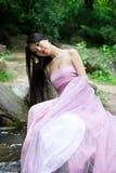 Mujer japonesa hermosa Fotos de archivo