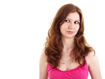 Mujer joven atractiva Imagen de archivo libre de regalías