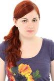 Mujer joven atractiva ningún maquillaje Imagen de archivo libre de regalías