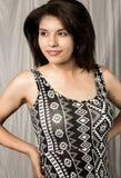 Mujer joven bastante étnica Foto de archivo