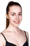 Mujer joven con maquillaje diario fresco Foto de archivo libre de regalías