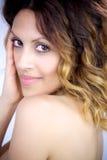Mujer joven de Beautifulu Fotos de archivo