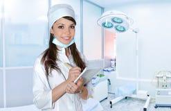 Mujer joven de la enfermera Foto de archivo libre de regalías