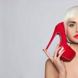 Mujer joven de moda Imagen de archivo