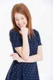 Mujer joven de risa Fotos de archivo