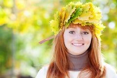 Mujer joven del adolescente del redhead Fotografía de archivo