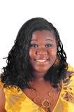 Mujer joven del afroamericano Imagen de archivo
