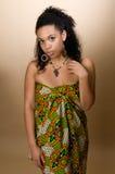 Mujer joven del afroamericano Fotos de archivo