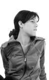 Mujer joven deportiva Fotos de archivo