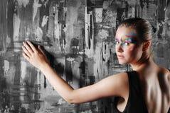 Mujer joven elegante Fotografía de archivo libre de regalías