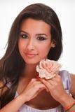 Mujer joven exótica hermosa Fotografía de archivo libre de regalías