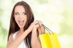 El hacer compras Imagen de archivo