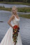 Mujer joven feliz en amor Fotos de archivo libres de regalías