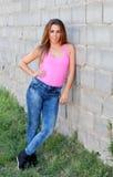 Mujer joven fresca Foto de archivo libre de regalías