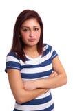 Mujer joven frustrada Fotos de archivo libres de regalías