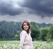 Mujer joven hermosa Imagen de archivo libre de regalías