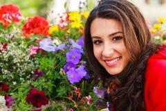 Mujer joven hermosa Fotos de archivo