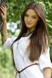Mujer joven hermosa Foto de archivo libre de regalías