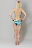 Mujer joven hermosa en bikini Imagen de archivo