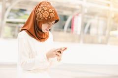 Mujer joven musulmán Fotos de archivo libres de regalías