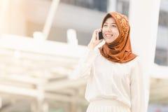 Mujer joven musulmán Imágenes de archivo libres de regalías