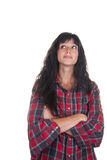Mujer joven ocasional Imagen de archivo libre de regalías