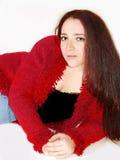Mujer joven ocasional Fotos de archivo libres de regalías