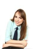 Mujer joven - oficinista Fotos de archivo libres de regalías