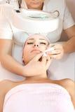 Terapia de la belleza Foto de archivo libre de regalías